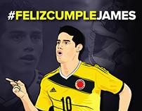James Rodríguez HBD