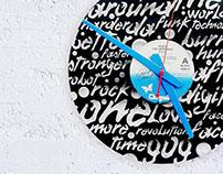 Plexi & Vinyl Clocks