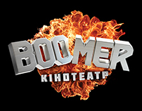 Boomer movie theater branding and launch