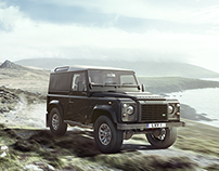 Land Rover LXV | CGI, Photography & Retouching