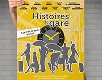 Histoires de gare - Affiche de spectacle