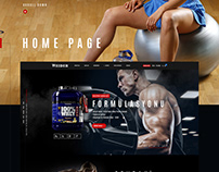 Weider Tr - Offical Web Site Design