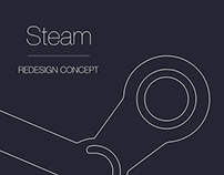 Steam Redesign Concept