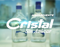 "Cristal - Spirit drink Colombian ""aguardiente"""