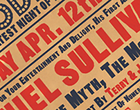 Music Hall Bill Posters