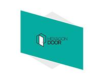 Hexagon Door | brand Identity