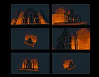 VR Illustration - Taj Mahal