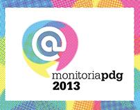 Identidade Visual Monitoria PDG 2013