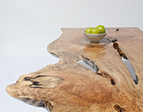 Mind-blowing Maple Coffee Table