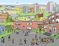 Illustrations for Korus Nord