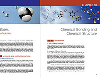 Organic Chemistry (book interior/cover design)