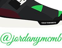 """Y-3 Qasa High """"Neon Green"""""""
