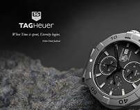 3D Render: Tag Heuer Aquaracer Watch