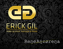 Erick Gil rebranding and web UI & UX design