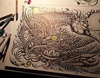 """The Fire Hummingbird""~"