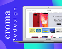 Croma - eCommerce website