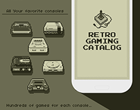 Retro Gaming Catalog App