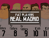 Fat Players: Real Madrid | The Five Gladiators