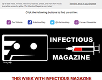 Infectious Magazine Newsletter Revamp
