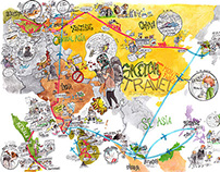 2014 sketching travel-Map