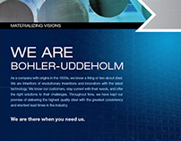 Bohler Uddholm - Corporate Brochure
