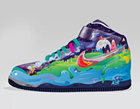 "Footlocker Art prize ""Nike Colour Comets"" - Finalist"