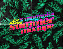 SUMMER MIXTAPE X MAGNOLIA • EDO MARANI • ARTWORK