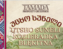 Label on spices