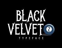 Black Velvet 2 Typeface