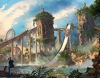 Themepark Design - Adventure Cove