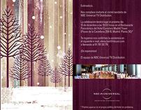 NBC Universal Holiday Event invitation