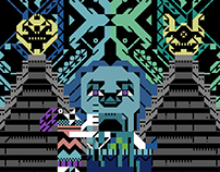 Pagan Sector / EP 'Hermopolis Magna' ltd poster