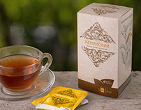 Perfect Organics tea packaging