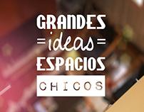 Grandes Ideas - Espacios Chicos