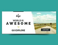 Travel - Vacation Web Ad Marketing Banners Vol 4