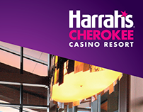 Harrah's Cherokee Casino Resort - Rebrand Mailer