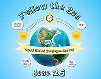 Follow the Sun Infographic