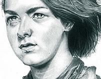 Arya Stark Portrait Commission