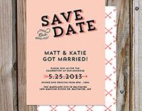 Matt & Katie Got Married!