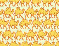 Camel Parade Pattern