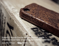 Filter017 Razzle Dazzle iphone 4 Case (Not for sale)
