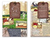 Brochure | Agritourism farm Qzko