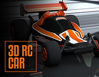 Orange RC Car