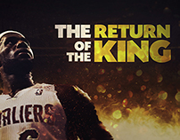 Lebron James : The return of the king