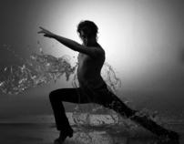 Dancing under the water