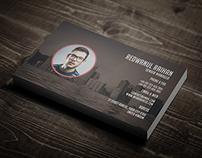 Creative Corporate Pro Business Card