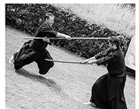 Nine Circles Japanese Martial Arts team shoot