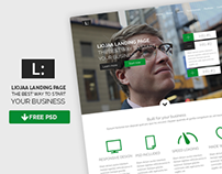 Liojaa free psd webdesign