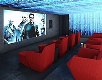FUTURISTIC HOME CINEMA