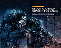 3d World Magazine 185 September 2014 Mech Tutorial